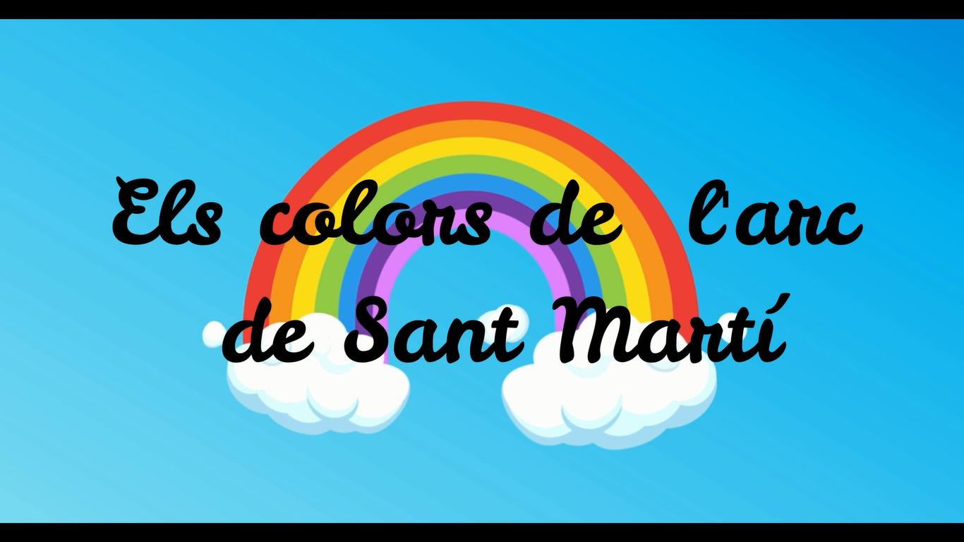 Bona Diada De Sant Jordi 2020 Els Colors De L Arc De Sant Martí I La Llegenda De Sant Jordi Escola Nova